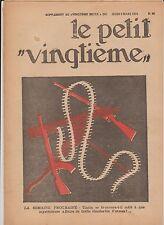 Le Petit Vingtième 1933 n°10 - couverture Hergé.