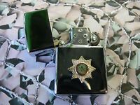Army Military Regimental Lighter With Cheshire Regiment On Front
