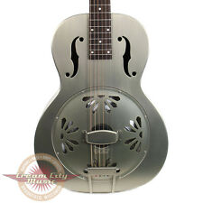 Brand New Gretsch G9201 Honey Dipper Resonator Brass Body Biscuit Cone