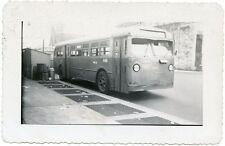 5G660 RP 1940s? MACK BUS PHILADELPHIA TRANSPORTATION CO BUS #1947 ROUTE 'H'