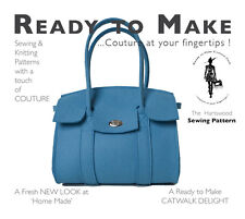 Sewing Patterns Handbag Ready to Make Couture Wool Felt Bag Dress Making Purse