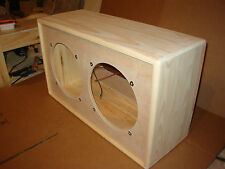 TRM 2x12 guitar extension cabinet 212 open back unfinished project