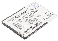 3.7V battery for HTC Vision, 35H00140-01M, BA S450, Mozart, T-Mobile G2, BB96100