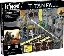 K'nex titanfall angel city escape building set Christmas gift
