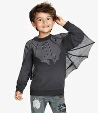 H&M UNICEF All For Children Batman 3D Bat Wings Sweater Toddler Boys 2-4yr 2T-4T