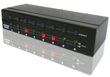 Premium 2 In 8 Out VGA Matrix Routing Switch Splitter [AC 110V Version]