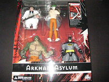 ARKHAM ASYLUM BOX SET BATMAN JOKER KILLER CROC PENGUIN FIGURES DC Direct