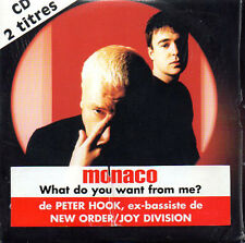 ★☆★ CD Single MONACO  NEW ORDER  JOY DIVISION What do you want from me 2-TR  ★☆★
