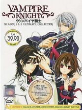 DVD Vampire Knight Season 1+2 English Dubbed