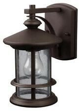 """Oil Rubbed Bronze 9.75""""H Outdoor Wall Light"""