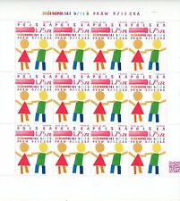 Poland 2015 Fi 4656 ** Full sheet - National Polish day of children's KIDS