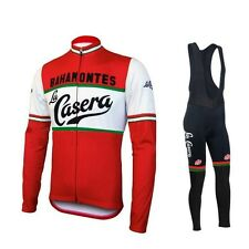 Completo Invernale/Cycling Jersey and pants Team La Casera 2016 Thermal Winter