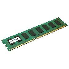 Crucial Technology CT102472BD160B 8gb Pc3-12800 1600mhz Ddr3 Mem 240pin Dimm Ecc
