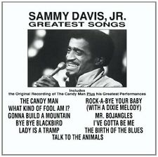 SAMMY DAVIS JR : GREATEST SONGS  (CD) Sealed