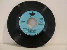 45 RECORD LARRY WILLOUGHBY- HEART ON THE LINE