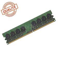 Barrette mémoire DDR2 PC2-5300 667MHZ 1GO/GB 240PIN 16CHIPS GRANDE MARQUE