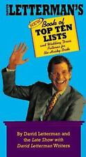David Letterman's Book of Top Ten Lists: and Wedding Dress Patterns for the Hu..