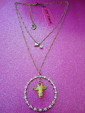 Betsey Johnson Giraffe Necklace