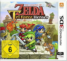 The Legend of Zelda: Tri Force Heroes Nintendo 3DS *Neu & OVP*