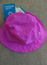 Columbia Toddler Packable Bucket Hat pks into seahorse Pink UPF50Protection BNWT