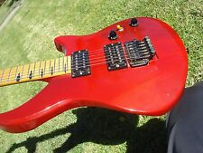 Gibson M-III Custom Shop Hot Rod Red Strat Style Body w/ Gibson Floyd Rose 6 lbs