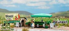 Busch 1074, Espárragos Venta, H0 Modelos En Miniatura Kit 1:87, Novedad 2013