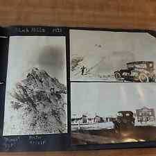 1920-30's Photo Album Over 90 Old Photos And Several Newspaper Clippings #11