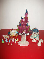 Polly pocket Château lumineux Cendrillon Cinderella Disney Bluebird light up