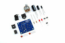 Mini Amplificador De Audio hágalo usted mismo Kit Lm386 3,5 Mm 12v unsoldered Flux Taller