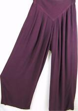 TIENDA HO~Aubergine~WOVEN SUSTI~CB50~Textured~PLEATED~Draped~LAGENLOOK~OS M-1X?