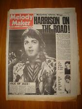 MELODY MAKER 1974 MAR 9 WINGS MCCARTNEY HARRISON