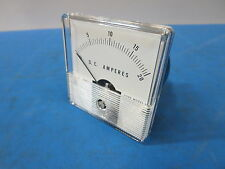 Analog Panel Current Meter Ammeter  DC 0-20A  2.5""