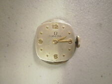 Vintage Lady's 17j Omega R13.5 Movement and Dial for Parts or Repair #10990711