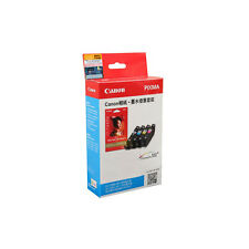 Canon PIXMA CLI726 BK/C/M/Y 4-Color Ink Tanks+GP-508 4R Photo Paper (20 Sheets)
