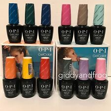 2017 OPI Gel Color -  Fiji Collection -12 COLOR SET .5 FL OZ