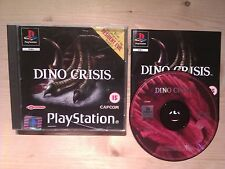 Dino Crisis For PS1/PS2/PS3. Boxed with Manual. Pal