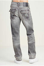 NWT -- True Religion Jeans Ricky Super T Worn Concrete Size 30 Retail $349