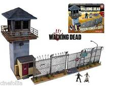 The Walking Dead Prison Tower & Gate with Glenn Building Set McFarlane 620 pcs