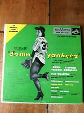 DAMN YANKEES 45 RCA COVER BOOKLET AND 2 RECOREDS 45 EP VICTOR RECORDS