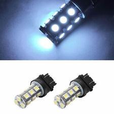 2X 3157 5050 18-LED 7000K White RV Camper Headlight Light Backup Reverse Bulbs