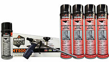 Handi Foam Sealant - Gun Foam Combo Pack (HT500, Cleaner, (4) 24oz cans Sealant)