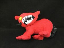 "Oriental Tiger Dragon Old Navy Supply Company Red Black White Plush 10"" Toy"