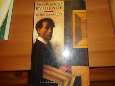 1989 The Book of Evidence First Edition John Banville Award-Winning