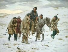 Howard Terpning CHIEF JOSEPH RIDES TO SURRENDER MuseumEdition giclee cvs #35/225