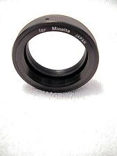 T2 Lens to Minolta  Mount Adapter for SR SRT or MD | Very Nice | Works Perfectly