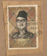 Ori mounted on envelope Tengku  stamp  15c