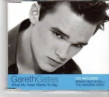 (FK753) Gareth Gates, What My Heart Wants To Say - 2002 CD