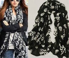 Women Long Neck Large Scarf Wrap Shawl Pashmina Soft Scarves Chiffon Cotton Nice