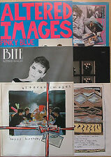 Altered Images - 3 LPs: Happy Birthday + Pinky Blue + Bite - wie neu (1981-1983)
