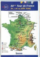 CP - Carte Postale - 88e Tour de France 2001 - Cyclisme